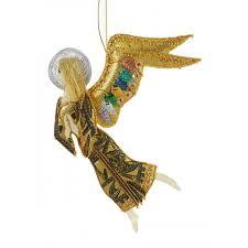 Christmas Angel Decorations Uk by Violin Angel Christmas Tree Ornament