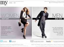 fashion e shop 35 inspirational fashion website designs webdesigner depot