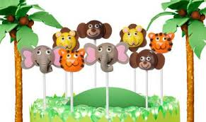 wilton jungle character cake ball pops party ideas pinterest
