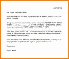 intimation letter format 26 notice period letter templates free