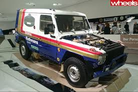 porsche dakar porsche once shoehorned one of its engines into a mercedes benz g