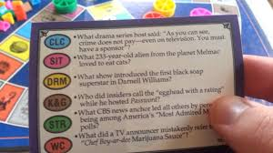 trivial pursuit 80s trivial pursuit tv edition master