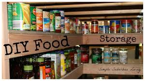 diy food storage pantry save time save money buy bulk and be