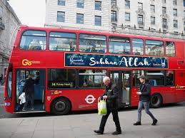 Buy Flags In London Muslim Charity To Put U0027allah Is Great U0027 Posters On Buses To Portray