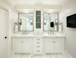 used double sink bathroom vanity for sale without top white bowl