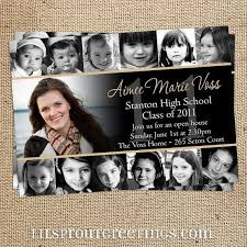 what to put on graduation announcements designs create your own graduation party invitations also print