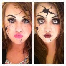 broken doll makeup tutorial costumes dolls halloween costumes