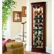 Corner Glass Display Cabinet Ebay Corner Cabinets Ebay