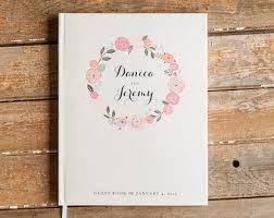 wedding registry book guest registry etsy