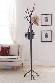 amazon com kings brand bronze finish metal hall tree coat u0026 hat