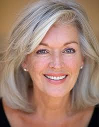 image result for 2017 hairstyles for medium hair for gray hair on