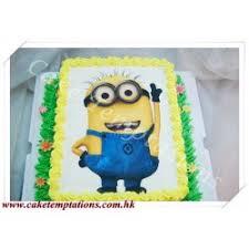 photo cake despicable me