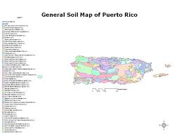 Map Of Puerto Rico Soils Nrcs Caribbean Area