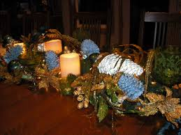 beautiful centerpieces silver christmas table decorations ideas