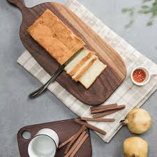 cutting board plate black walnut chopping block bread board sushi plate pizza cutting
