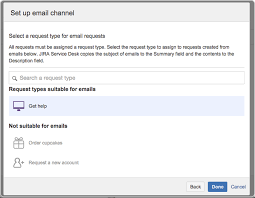 receiving requests by email atlassian documentation