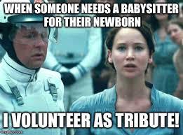 Volunteer Meme - i volunteer as tribute meme generator imgflip