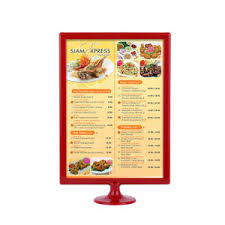 restaurant table top display stands china tabletop plastic restaurant menu board display stand china