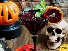 halloween party alcoholic drinks bloody zombie rum cocktail wicked good kitchen