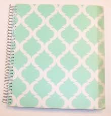 pattern play notebooks carolina pad studio c college ruled poly cover 5 subject spiral