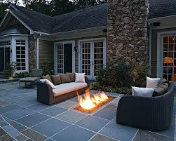 Landscape Fire Features And Fireplace Image Gallery Modern Landscaping Pictures Gallery Landscaping Network