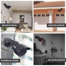 interior home surveillance cameras amazon com zosi full ture 1080p home surveillance camera system