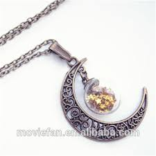 bottle necklace aliexpress images Moon globe necklace glass bottle pendant moon necklace moon bronze jpg