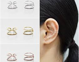 ear cuff jewelry cuff wrap earrings etsy