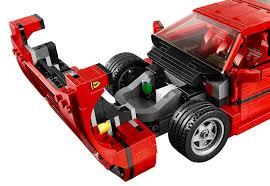 ferrari lego speed champions the brickverse lego ferrari f40