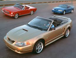 40th year anniversary mustang ford mustang 1964 to 1999