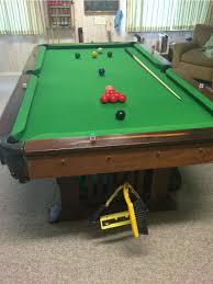 custom mission style 8 u0027 pool or snooker table made in koa or mango