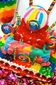 candy cakes candy land crazy colorful centerpieces u0026 super fun