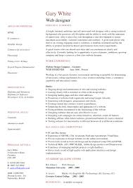 Web Designer Resume Sample by 20 Eye Catching Designer Resume Templates To Get A Job Wisestep