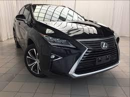 lexus suv used 2016 certified 2016 lexus rx 350 luxury package 1 owner nav in