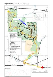 Map Of Wisconsin State Parks by Lapham Peak Trail Runners August 2010