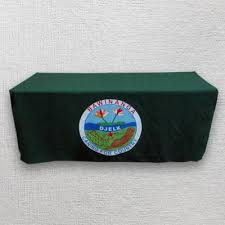 Custom Fitted Table Covers by Custom Table Covers Trade Show Table Covers