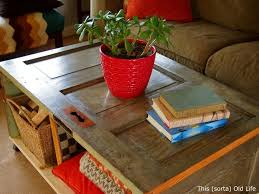 old doors made into coffee tables now that we re past the 4th of july the true start of summer here