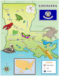 map use use our kid friendly state map for your louisiana travels
