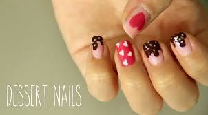 sweet dessert nails youtube