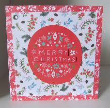 four floral folk christmas cards docrafts com