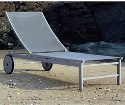 Patio Furniture Long Beach by Long Beach Aluminum Chaise Lounge Contemporary Patio Chicago