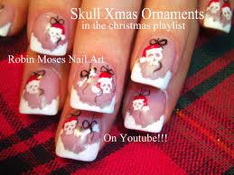 36 wonderful christmas nail art designs diy cute easy snowflake