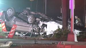 Six Flags Texas Accident Speeding Driver Causes Deadly 3 Vehicle Pileup In Pearland