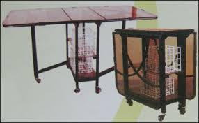 Folded Dining Table Glass Folding Dining Table In S V Road Andheri W Mumbai