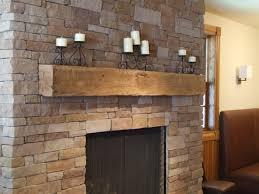 reclaimed wood fireplace mantel binhminh decoration