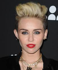 how to style miley cyrus hairstyle miley cyrus undercut hairstyle short straight casual light