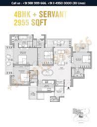 floor plan m3m latitude gurgaon
