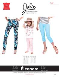 Image Swag Pour Fille by Jalie 3461 Eleonore
