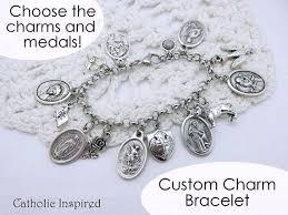 design charm bracelet images Design your own charm bracelet choose the saint medals jpg