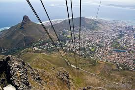 Table Top Mountain by View From The Top Cape Town Daily Photo
